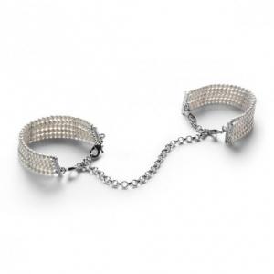 Браслеты - наручники PLAБраслеты - наручники PLASIR NACRE белый жемчуг Bijoux Indiscrets (Испания)SIR NACRE белый жемчуг Bijoux Indiscrets (Испания) купить