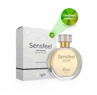 Женская туалетная вода SENSFEEL + афродизиак, 50 мл эффективная феромон-технология Orgie (Бразилия-Португалия)