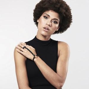 Браслет Bijoux Indiscrets MAZE - Hand Bracelet Harness Black купить