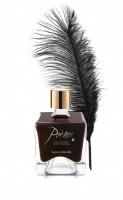 Съедобная краска для тела + перо POÊME вкус: тёмный шоколад, 50мл Bijoux Cosmetiques (Испания)