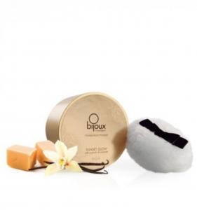 Мерцающая пудра для тела Sunset Glow Delicatessen соленая карамель Bijoux Cosmetiques (Испания) купить