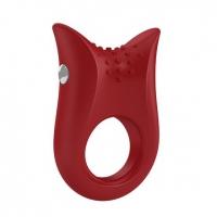 OVO - Вибрирующее кольцо OVO B2 Vibrating Ring Red купить